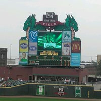 Photo taken at Fifth Third Field by Bill L. on 8/16/2012