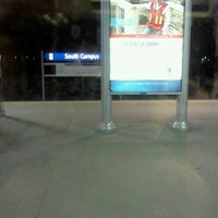 Photo taken at South Campus LRT Station by Don P. on 4/1/2012