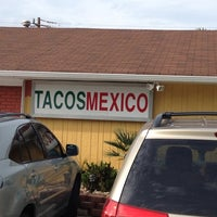 Photo taken at Tacos Mexico Restaurant by Phil B. on 5/18/2012