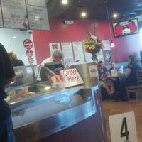 Photo taken at RedBrick Pizza by Leonard Z. on 6/13/2012
