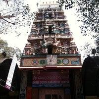 Photo taken at Shree DoDDa Ganapathi Temple by yiktk on 2/10/2012