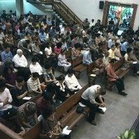 Photo taken at GKI Kebayoran Baru by Evert S. on 8/26/2012