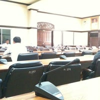 Photo taken at ห้องประชุมหลวงพ่อคูณ ปริสุทโธ ชั้น 3 ศาลากลางจังหวัดนครราชสีมา by Oil O. on 8/31/2012
