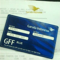 Photo taken at Garuda Indonesia Sales & Ticketing Office by Ferdi F. on 5/9/2012