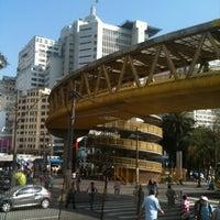 Photo taken at Terminal Parque Dom Pedro II by Beto Guerreiro C. on 7/25/2012