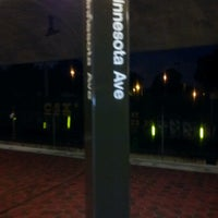 Photo taken at Minnesota Avenue Metro Station by Christian F. on 6/13/2012