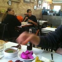 Photo taken at Suhila Hummus by Erez B. on 3/14/2012