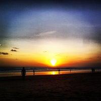 Photo taken at Legian Beach by Kirill B. on 7/20/2012