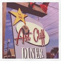 Photo taken at The Art Cliff Diner by Sereita C. on 8/31/2012