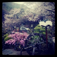 Photo taken at 積翠寺温泉 要害 by じゃんぼ^^ on 4/14/2012
