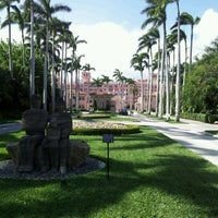Photo taken at Boca Raton Resort and Club, A Waldorf Astoria Resort by Brett V. on 5/2/2012