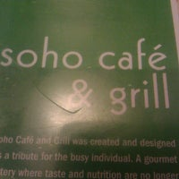 Photo taken at Soho Cafe & Grill by Jentastico on 6/21/2012