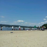 Photo taken at Croton Point Beach by Monica H. on 7/22/2012