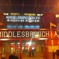 Photo taken at Riverside Stadium by Craig D. on 2/14/2012