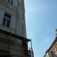 Photo taken at Sparkassaplatz by Anna Genial L. on 8/18/2012