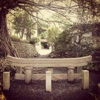 Photo taken at 黒神神社 埋没鳥居 by Masanobu I. on 5/1/2012