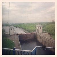 Photo taken at Шлюз № 9 канала имени Москвы by Roman M. on 5/14/2012
