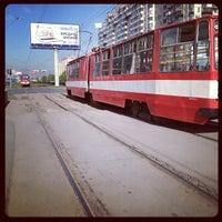 Photo taken at Трамвай №48 by Dmitry Z. on 5/21/2012