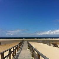 Photo taken at Playa de El Balneario by Toni Sanchez Alarcon on 4/10/2012