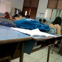 Photo taken at SMP Negeri 49 Jakarta by Rafika B. on 3/7/2012