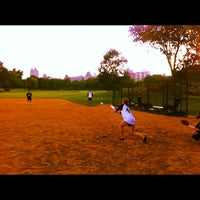 Photo taken at Central Park North Meadow Field 6 by Mark W. on 6/8/2012