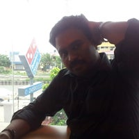 Photo taken at Dominos Pizza by Bhargavan R. on 8/10/2012