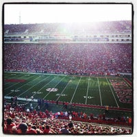 Photo taken at Donald W Reynolds Razorback Stadium by Audie R. on 9/2/2012