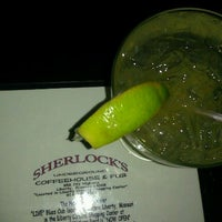 Photo taken at Sherlock's Underground Coffee House & Pub by Tracy M. on 5/4/2012