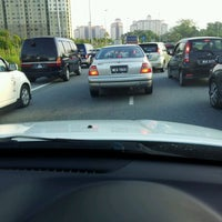 Photo taken at Exit Duke Jalan Semarak by Aishah M. on 4/4/2012