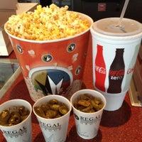 Photo taken at Regal Cinemas Alamo Quarry 16 by Rhiannon E. on 3/7/2012