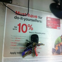 Photo taken at Williams Ace Hardware by David F. on 5/5/2012