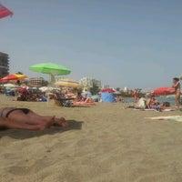 Photo taken at Playa Santa Ana by Javierxelmundo on 6/24/2012
