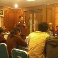 Photo taken at Hotel Grand Setiakawan by tomi k. on 3/13/2012