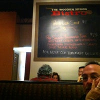 Photo taken at Wooden Spoon Bistro by Jake B. on 2/20/2012