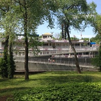 Photo taken at General Jackson Showboat by Jaime S. on 4/4/2012