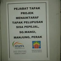 Photo taken at Site Office,PACE Structures ( PPSP,Sg.Wangi) by Bromo M. on 7/11/2012