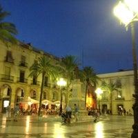 Photo taken at Plaça de la Vila by Jaume F. on 8/12/2012