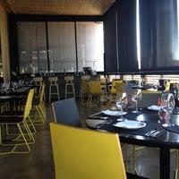 Photo taken at Cafe de La Musique by Marcus on 9/2/2012
