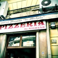 Photo taken at L'Antica Pizzeria da Michele by Marco G. on 4/27/2012