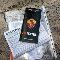 Photo taken at AS Roma Store by Samuel S. on 6/12/2012