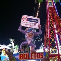 Photo taken at Feria Nacional Potosina by Carlos A. on 8/4/2012