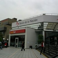 Photo taken at Banco de la Nación by Carlos O. on 7/9/2012