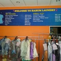 Photo taken at Kedai Dobi Harum Laundry by baba on 8/25/2012