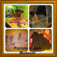 Photo taken at Pocono Indian Museum by Jake C. on 8/17/2012