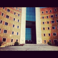 Photo taken at Yeditepe University by Ulviye C. on 8/22/2012