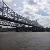 Photo taken at The Mighty Mississippi River by David D. on 4/27/2012