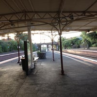 Photo taken at Armadale Station by Howard M. on 5/11/2012