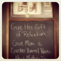 Photo taken at Cracker Barrel Old Country Store by lemorky on 5/13/2012