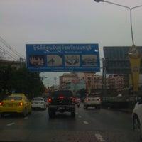 Photo taken at ถ. พิบูลสงคราม by Aoao K. on 7/19/2012