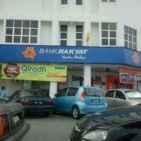 Photo taken at Bank Rakyat Dungun by Adiah73 on 2/14/2012